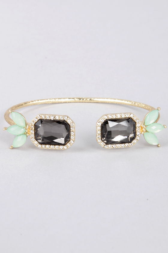 Endless Friend Mint Rhinestone Bracelet at Lulus.com!