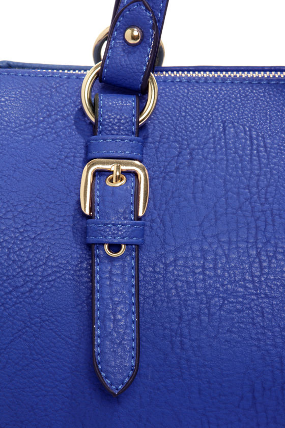 Royal Treatment Blue Purse at Lulus.com!