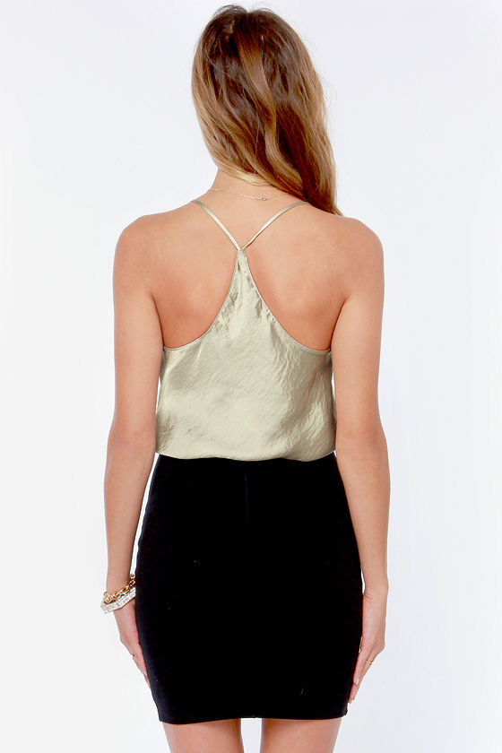 Just My Luxe Grey Tank Top at Lulus.com!