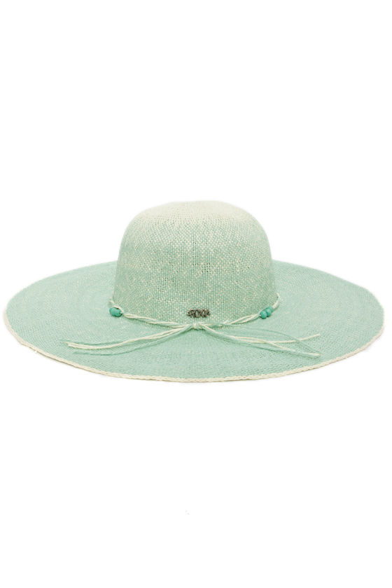 Roxy By the Sea Blue Ombre Straw Hat at Lulus.com!