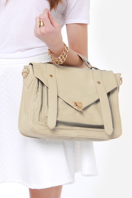 Style For Miles Grey Handbag at Lulus.com!