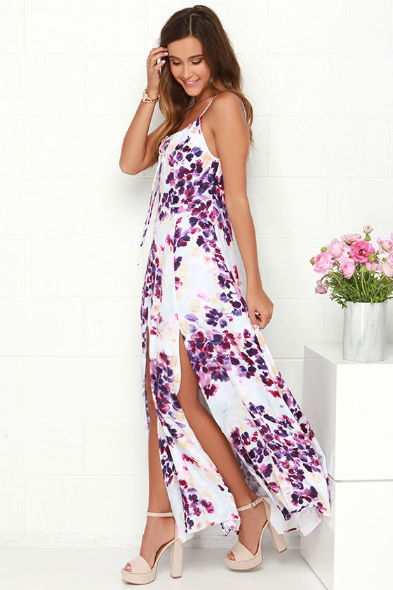 309be31e95a Somedays Lovin  Lonely Dress - Floral Print Dress - Maxi Dress -  95.00