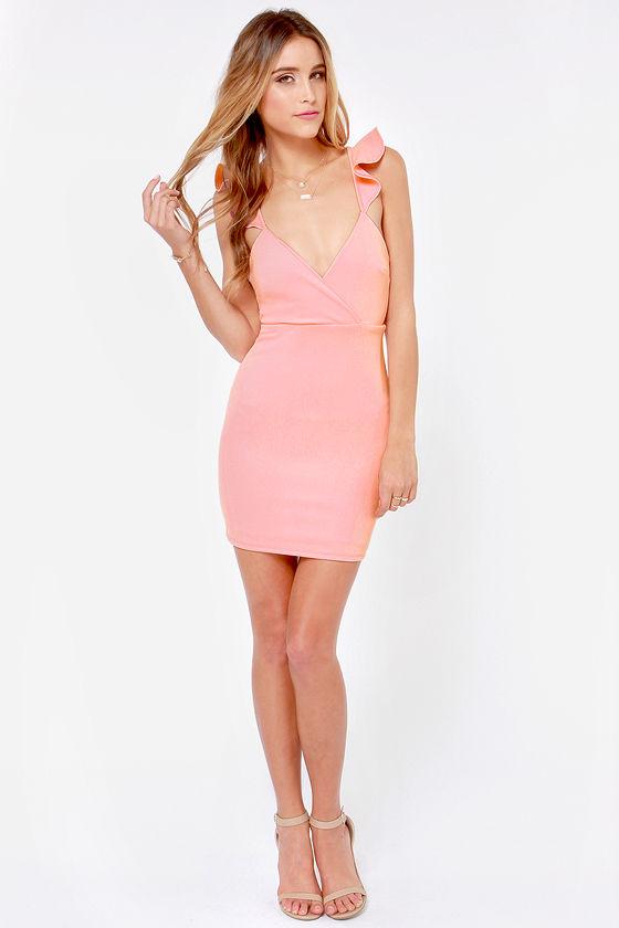 0e5f970df44d Sexy Pink Dress - Light Pink Dress - Backless Dress - Bodycon Dress - $39.00