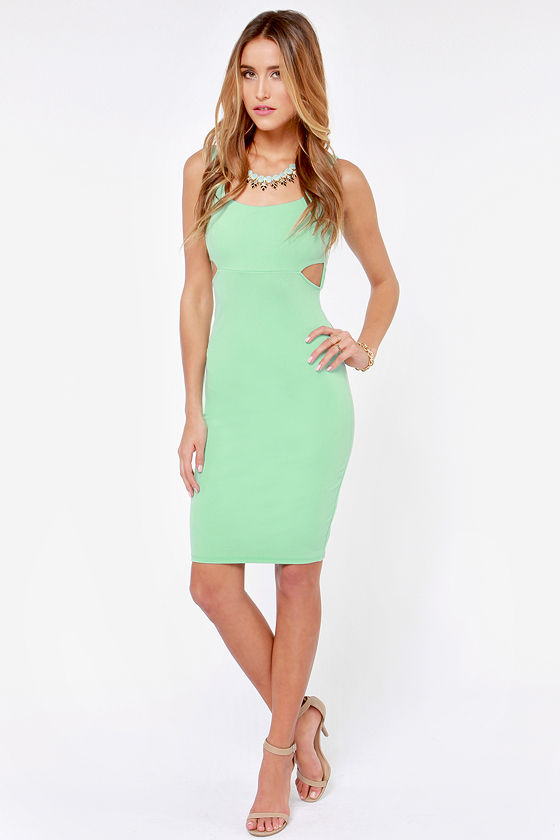 X-pect the Best Backless Mint Green Dress at Lulus.com!