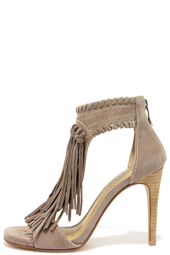 Fringe High Heel Shoes