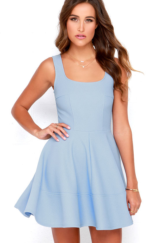 Home Before Daylight Periwinkle Dress 1