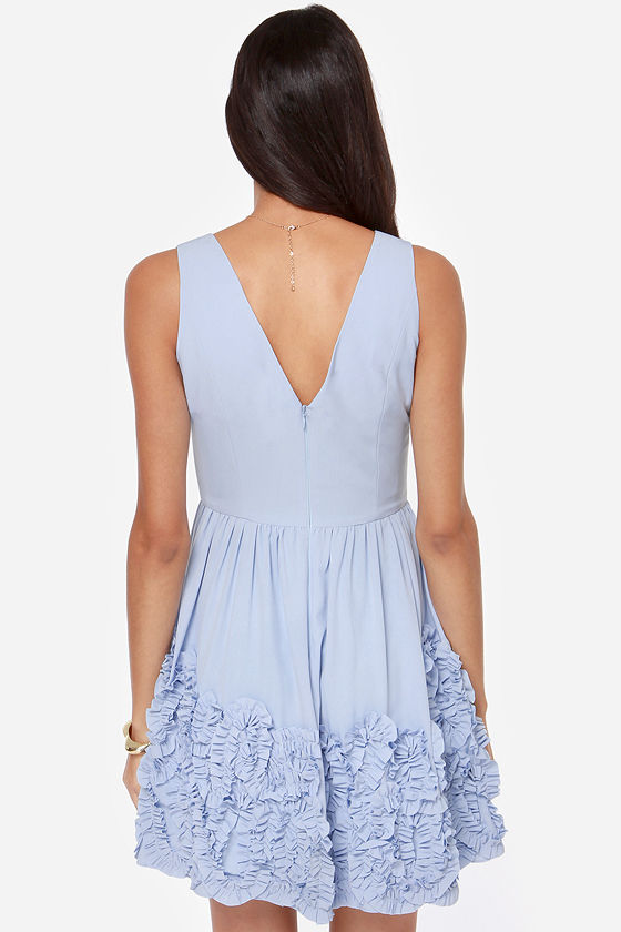 Out of this Whirl Periwinkle Blue Dress at Lulus.com!