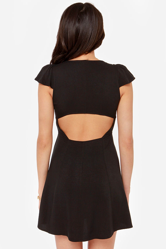 LULUS Exclusive Tie Spell Black Dress at Lulus.com!