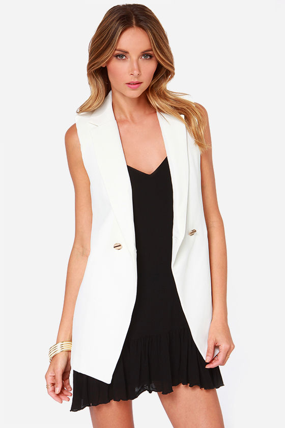 In-Vest in You Ivory Vest at Lulus.com!
