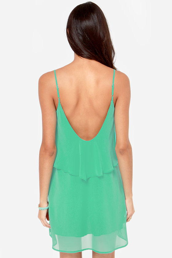 Tier, There, and Everywhere Teal Dress at Lulus.com!