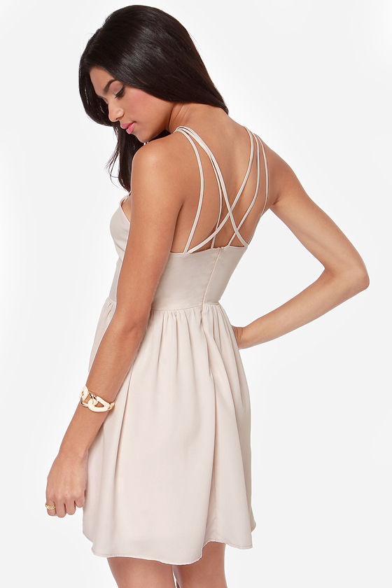 Got the Hots Cream Dress at Lulus.com!