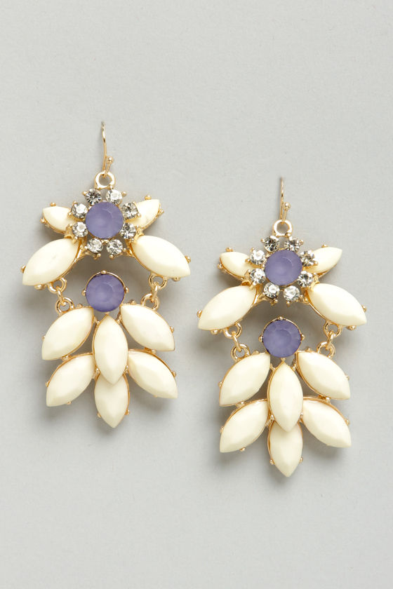 Refined Taste Cream Dangle Earrings at Lulus.com!