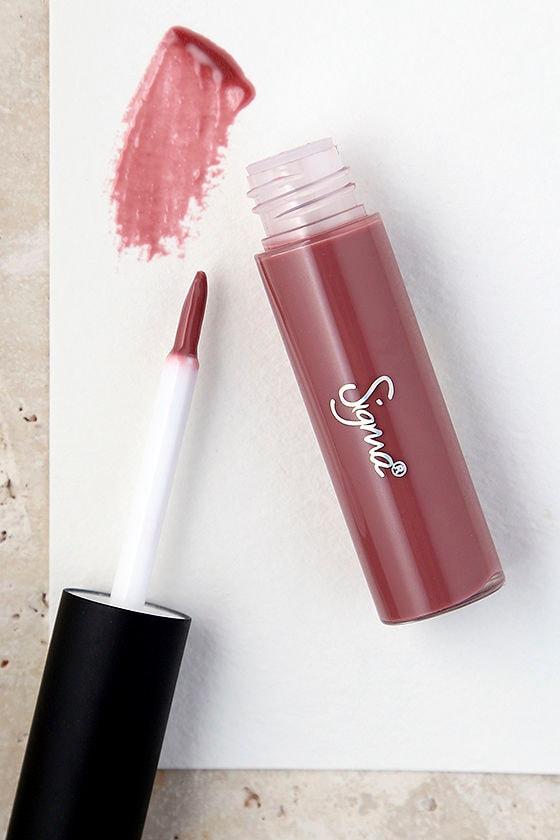 Sigma Lip Vex Tranquil Mauve Lip Gloss 1