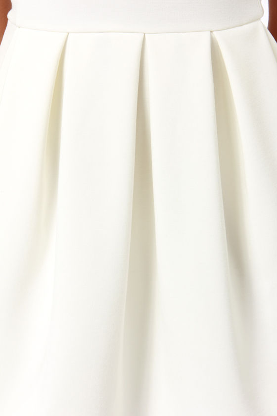 Black Swan Lily Ivory Dress at Lulus.com!