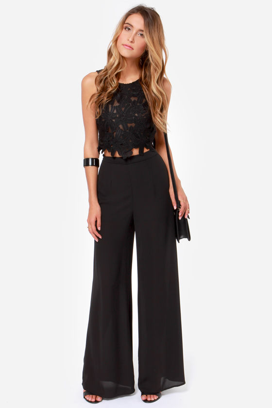 45c0e75f2a4 Sexy Black Top - Crop Top - Lace Top - $43.00
