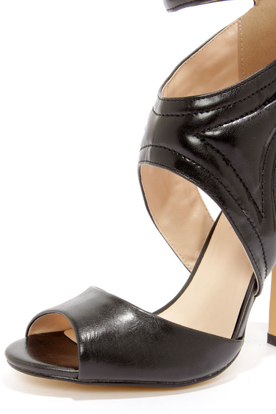 Heart Soul Dezi Black High Heels at Lulus.com!
