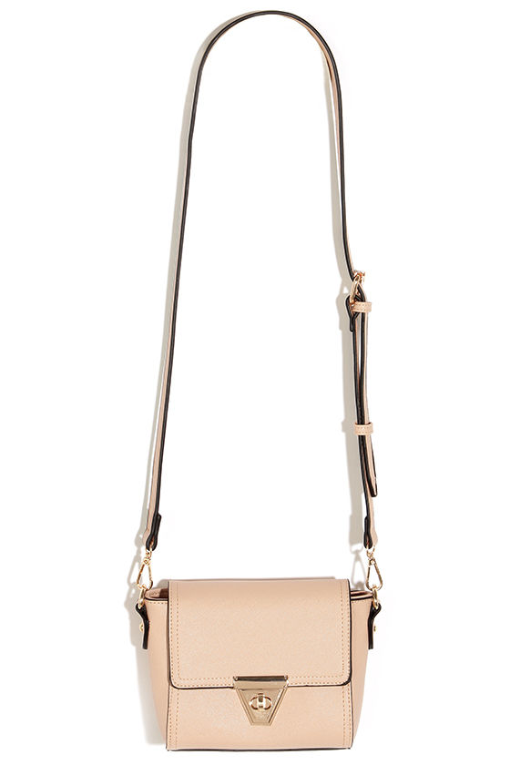 0b409d1343c Chic Nude Purse - Winged Purse - Nude and Gold Purse - $36.00