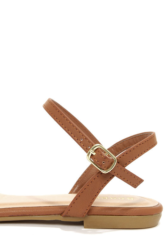 Bamboo Lynna 78 Chestnut Sandals at Lulus.com!
