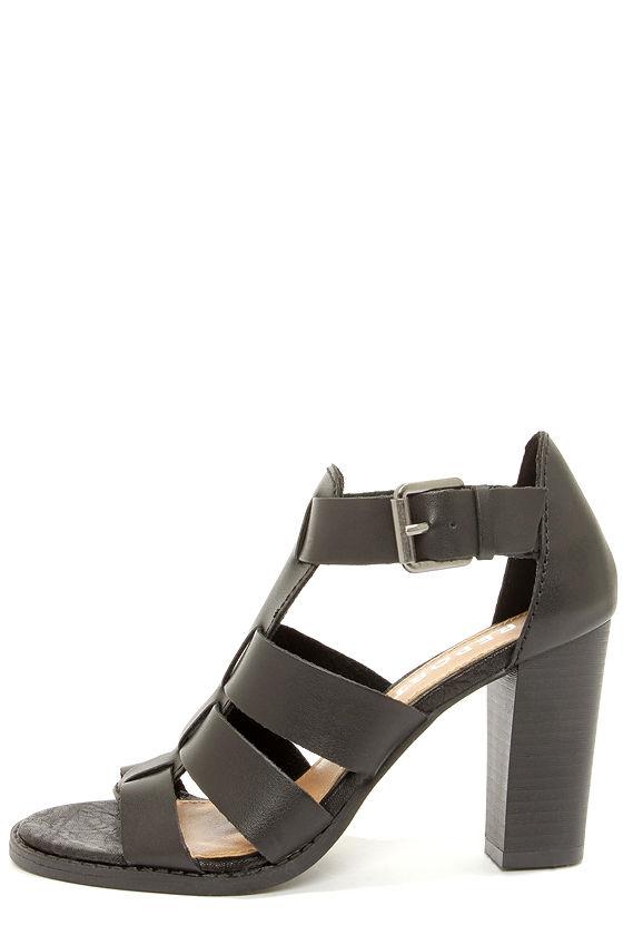 Report Rebecka Black High Heel Sandals at Lulus.com!
