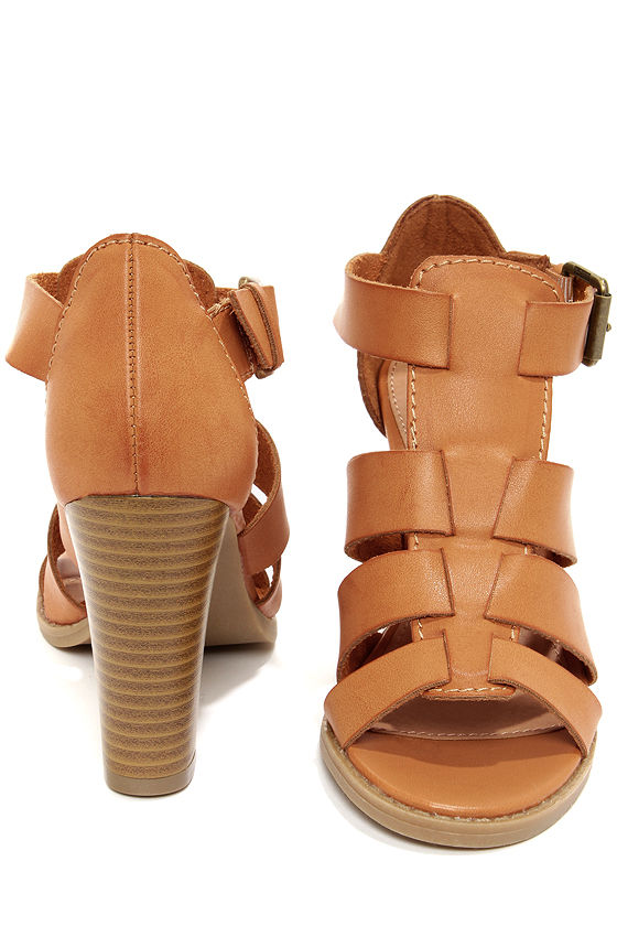 Report Rebecka Tan High Heel Sandals at Lulus.com!