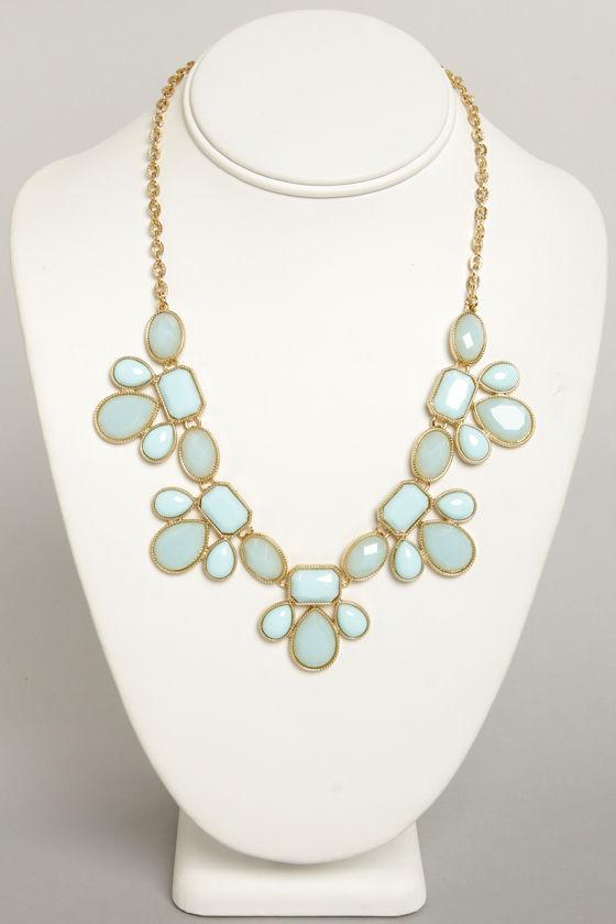 Light Blue Necklaces