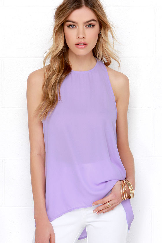 Cute Lavender Top
