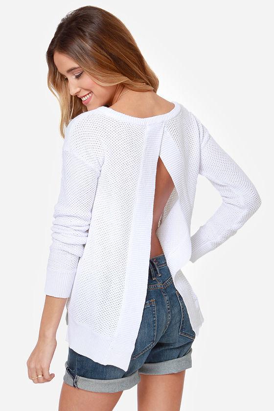 BB Dakota Kit Ivory Sweater at Lulus.com!