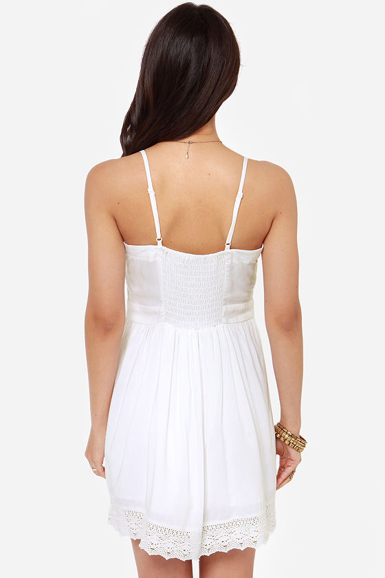 Jack by BB Dakota Abelia Ivory Dress at Lulus.com!