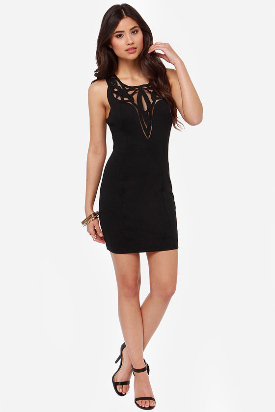 The Real Deluxe Black Dress at Lulus.com!