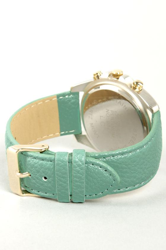 Watch It! Mint Green Watch at Lulus.com!
