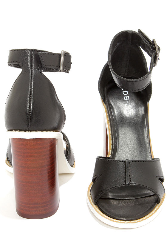 Kelsi Dagger Barcelona Black High Heel Sandals at Lulus.com!