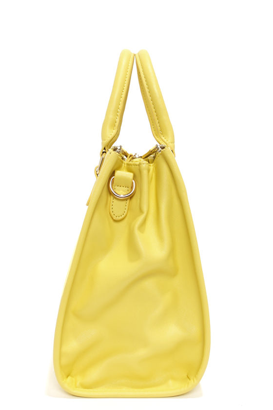 Brights Out Bright Yellow Handbag at Lulus.com!