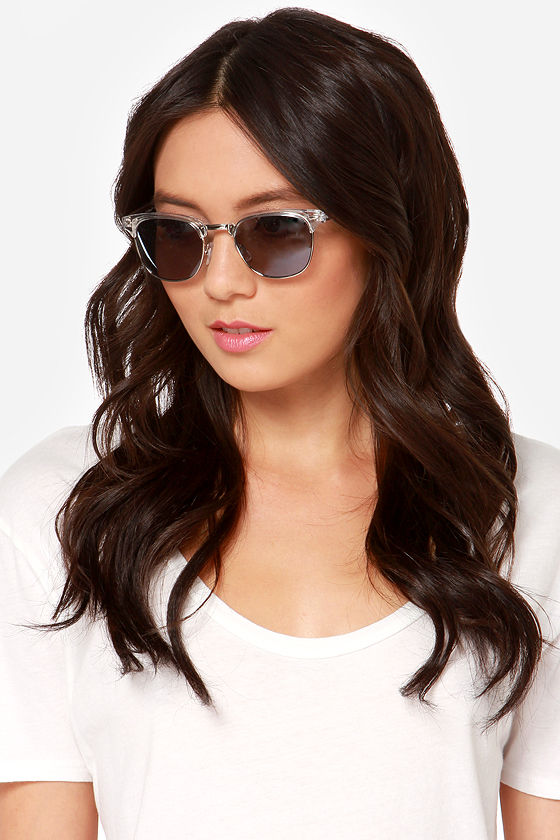 Soho Clear Sunglasses at Lulus.com!