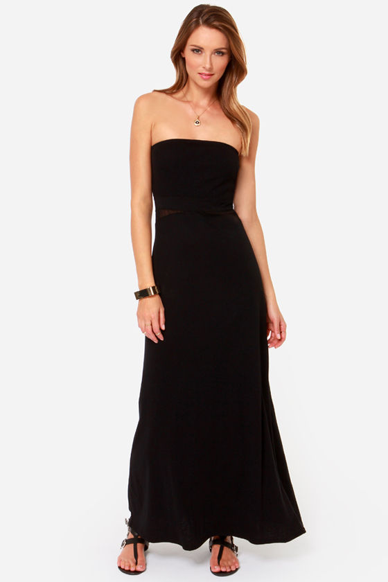Buy low price, high quality black strapless maxi with worldwide shipping on bloggeri.tk