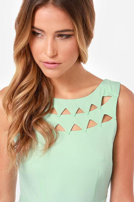 Sexy Mint Dress - Backless Dress - Skater Dress - Mint Green Dress ...