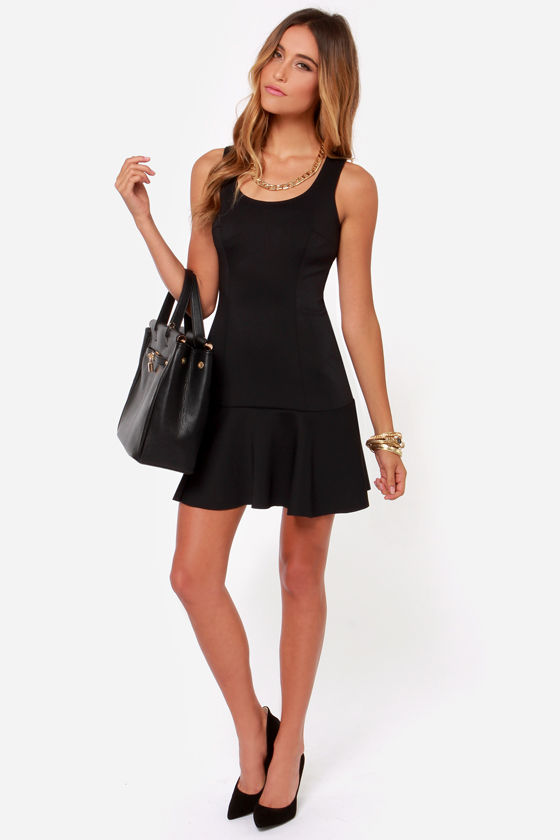 Beyond the Sea Black Dress at Lulus.com!