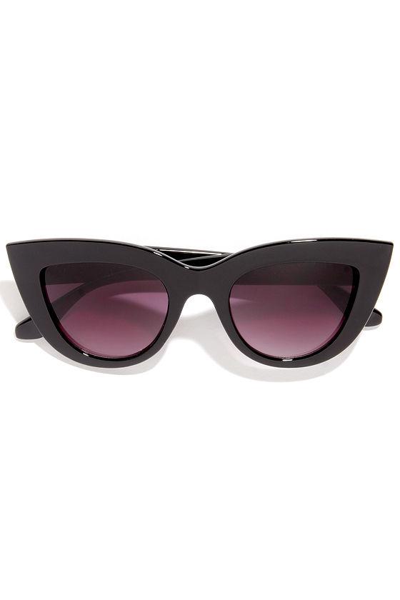 919e57fbc733c Cute Black Sunglasses - Cat-Eye Sunglasses
