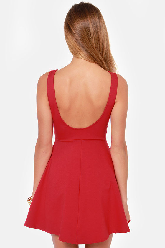 Pish Posh Red Dress at Lulus.com!