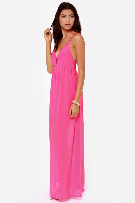 Oh so coy maxi dress