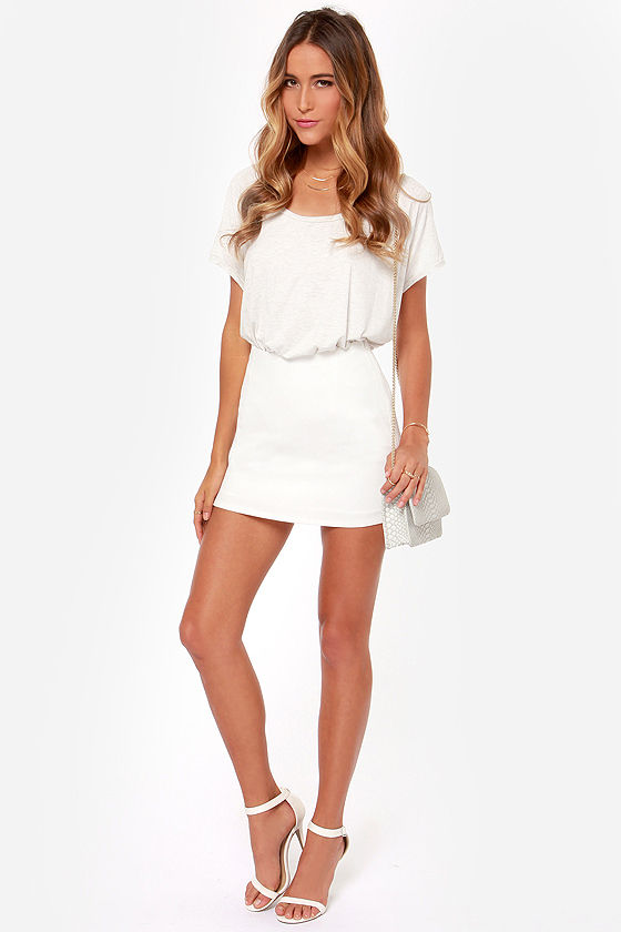 Fresh and Queen Ivory Mini Skirt at Lulus.com!