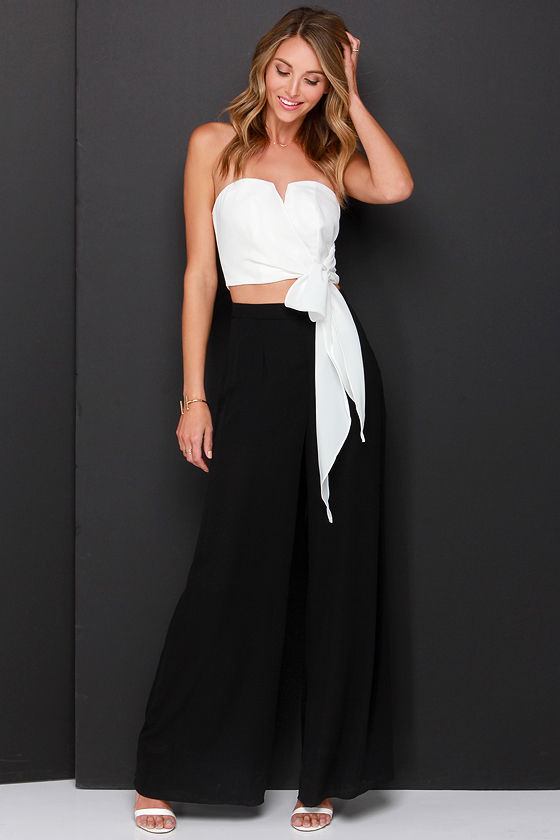 a034f0e862 Ivory Top - Crop Top - Strapless Top -  32.00