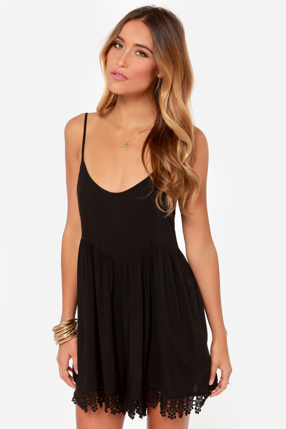Volcom Simmer Down Black Romper at Lulus.com!