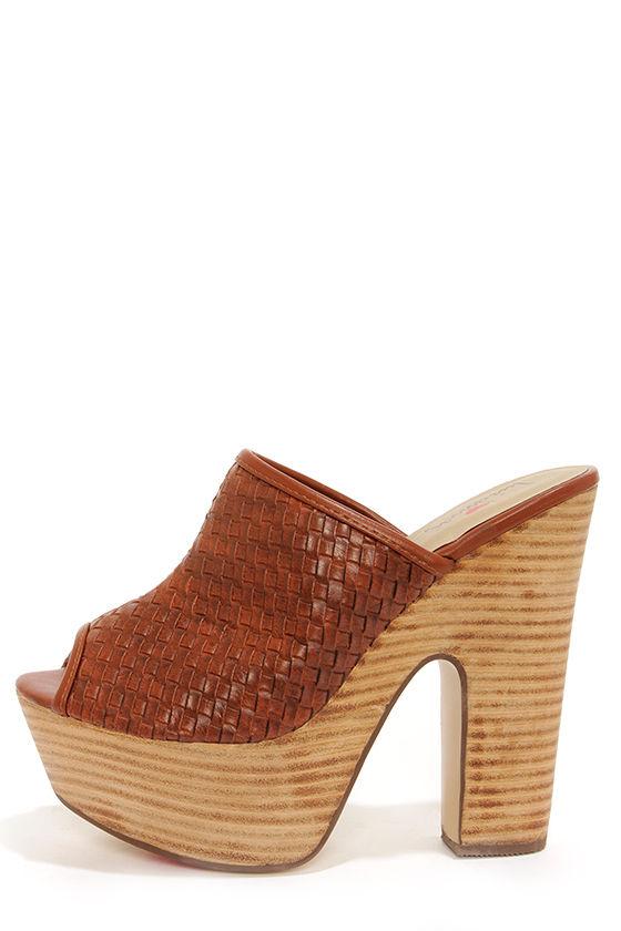 1dd1531baf2 Cute Brown Shoes - Platform Heels - Clogs - Mules -  77.00