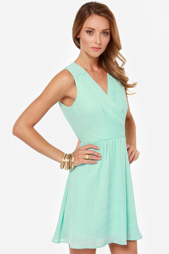 Someone Like You Mint Dress at Lulus.com!