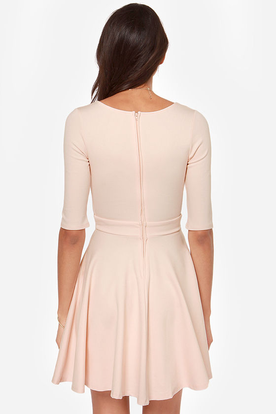 LULUS Exclusive Just a Twirl Blush Pink Dress at Lulus.com!