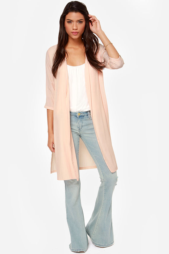 Zipper Capita Peach Jacket at Lulus.com!