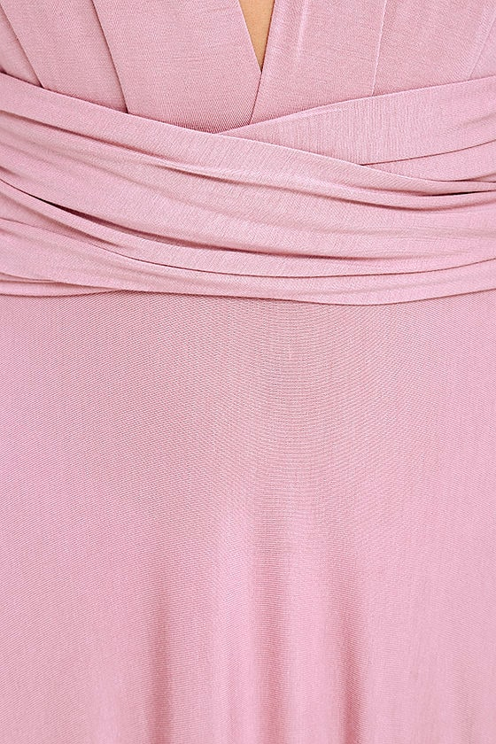 LULUS Exclusive Tricks of the Trade Mauve Maxi Dress 6