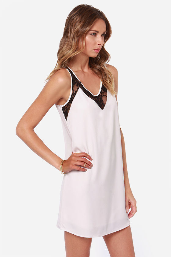 LULUS Exclusive Leaps and Bounds Light Blush Dress at Lulus.com!