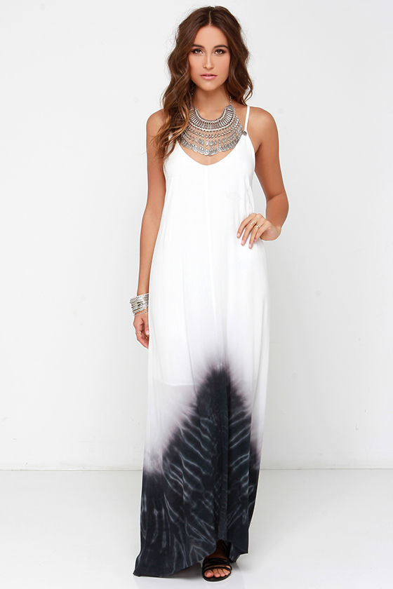 Tie Dye Maxi Dresses