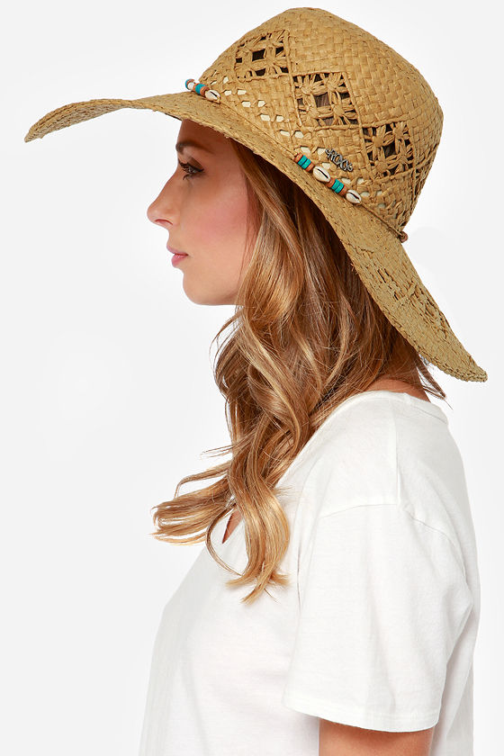 259f81f8 Roxy Shady Days Hat - Straw Hat - Brown Hat - $36.00